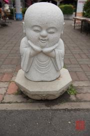 Taiwan 2015 - Fo-Guang-Shan - Sculpture - Monk