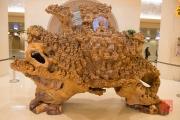 Taiwan 2015 - Fo-Guang-Shan - Wodden Buddhas