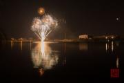 Spring Fair Fireworks Finale 2016 - White & Orange