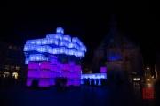 Blaue Nacht 2016 - Kubik - Blue & Pink