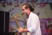 Bardentreffen 2016 - Iyeoka - Saxophon II