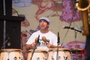 Bardentreffen 2016 - Iyeoka - Percussions II