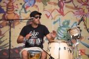 Bardentreffen 2016 - Celso Piña - Percussions II