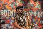 Bardentreffen 2016 - Ana Tijoux - Saxophone II