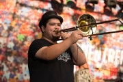 Bardentreffen 2016 - Ana Tijoux - Trombone II