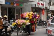Hanoi 2016 - Flowerbike