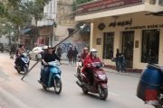 Hanoi 2016 - Motorcycle - Steel transport