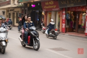 Hanoi 2016 - Motorcycle - Couple