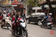 Hanoi 2016 - Motorcycle - Family