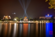 Hanoi 2016 - Turtle Pagoda by night II