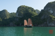 Halong Bay 2016 - Traditional boat