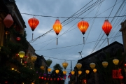 Hoi An 2016 - Lanterns in the street
