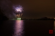 Nuremberg Spring Fireworks 2017 - Purple & Gold