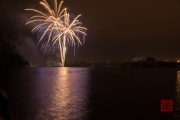 Nuremberg Spring Fireworks 2017 - Gold & Purple