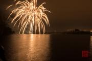 Nuremberg Spring Fireworks 2017 - Gold II