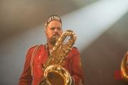 Puls Festival 2017 - Meute - Baritonsaxophone 1 I